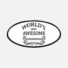 World's Most Awesome Fisherwoman Patches