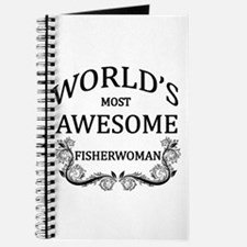 World's Most Awesome Fisherwoman Journal