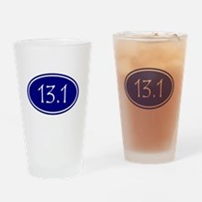 Blue 13.1 Oval Drinking Glass