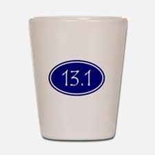 Blue 13.1 Oval Shot Glass