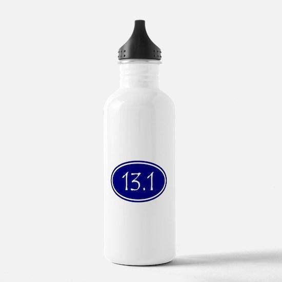 Blue 13.1 Oval Water Bottle
