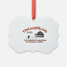 TheLocalHB.com logo Ornament