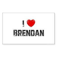 I * Brendan Rectangle Decal