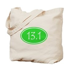 Lime 13.1 Oval Tote Bag
