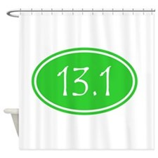 Lime 13.1 Oval Shower Curtain