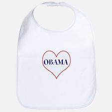 I love Obama Baby Bib