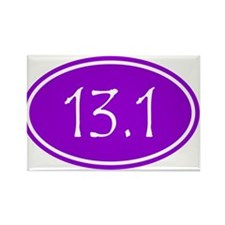 Purple 13.1 Oval Magnets