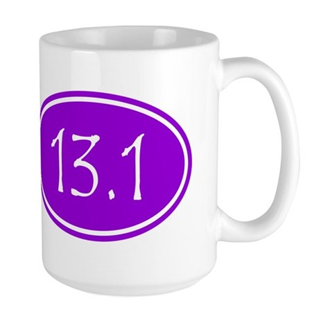 Purple 13.1 Oval Mugs