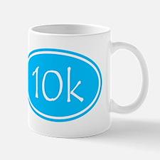 Sky Blue 10k Oval Mugs