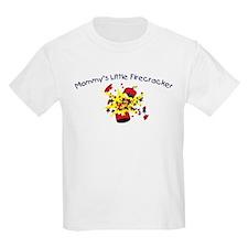 Mommy's Little Firecracker Kids T-Shirt