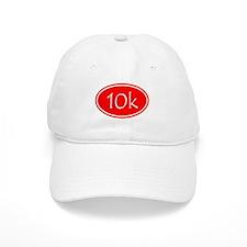 Red 10k Oval Baseball Baseball Cap