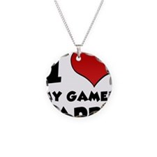 I Heart My Gamer Daddy Necklace