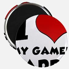I Heart My Gamer Daddy Magnet