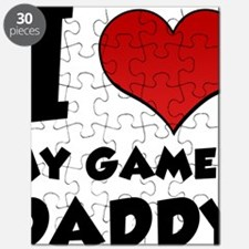 I Heart My Gamer Daddy Puzzle