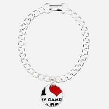 I Heart My Gamer Daddy Bracelet
