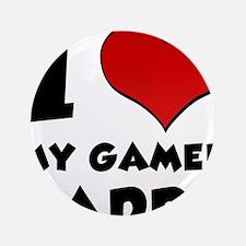 "I Heart My Gamer Daddy 3.5"" Button"
