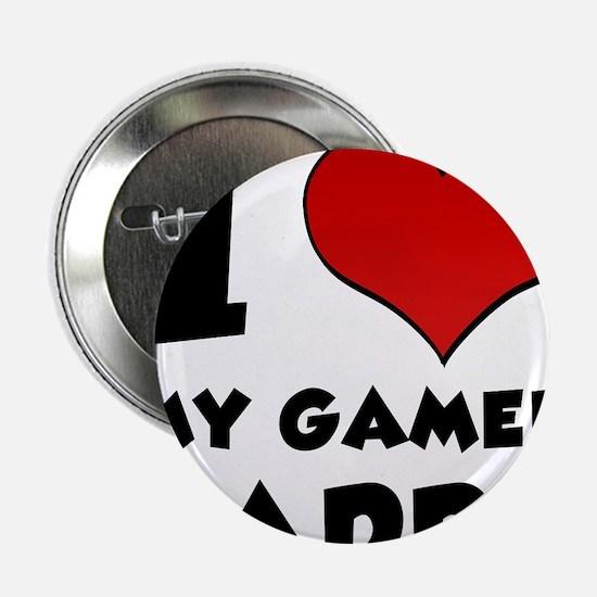"I Heart My Gamer Daddy 2.25"" Button"
