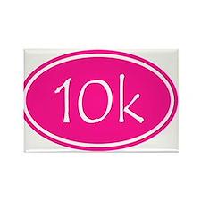 Pink 10k Oval Magnets