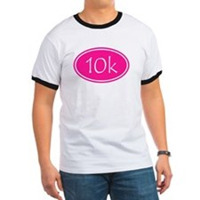 Pink 10k Oval T-Shirt
