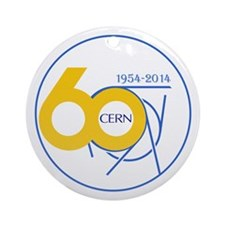 CERN Turns 60! Ornament (Round)