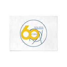 CERN Turns 60!! 5'x7'Area Rug