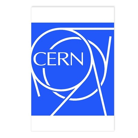 CERN Postcards (Package of 8)