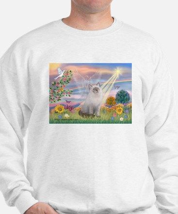 Cloud Angel & Ragdoll Sweatshirt