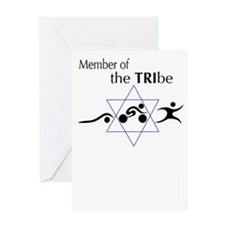 Member of the Tribe Greeting Card