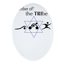 Member of the Tribe Oval Ornament