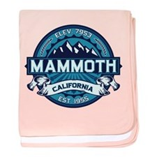 Mammoth Ice baby blanket