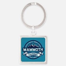 Mammoth Ice Square Keychain
