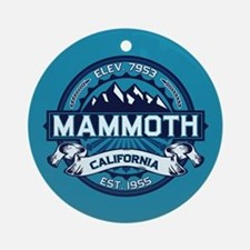 Mammoth Ice Ornament (Round)