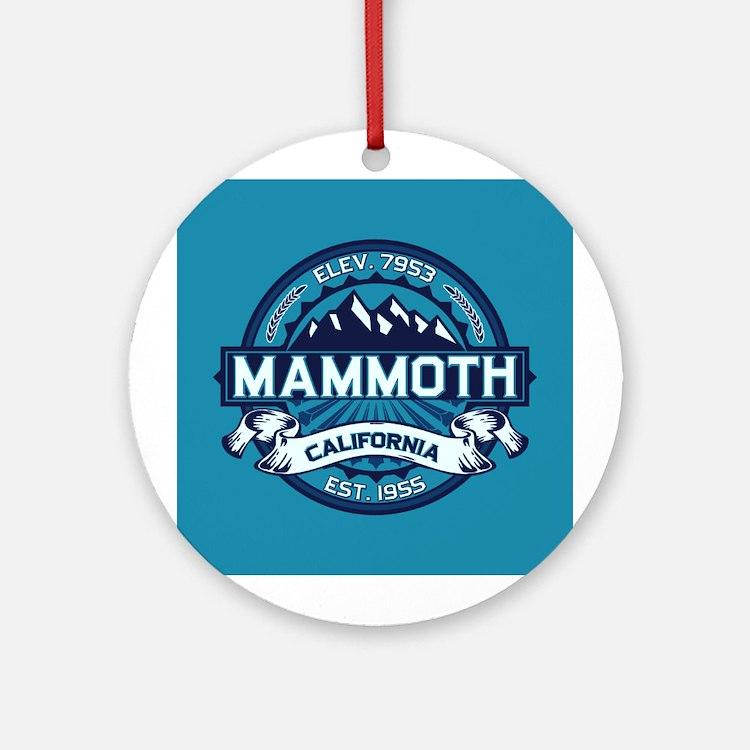 Mammoth Ice Ornament (Round)