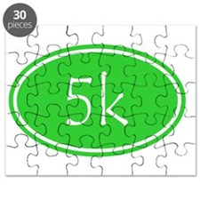 Lime 5k Oval Puzzle