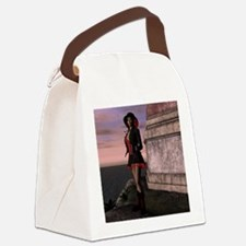 Peaceful Morning Canvas Lunch Bag