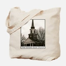 The Donald Duck Church Tote Bag