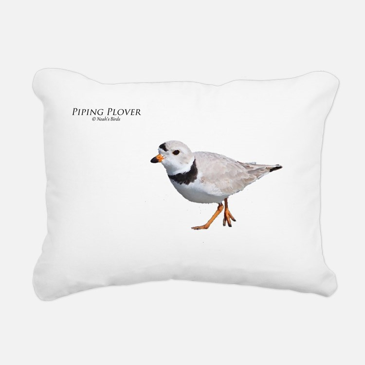 PIPING PLOVER T DESIGN Rectangular Canvas Pillow
