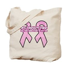 yes theyre fake real ones tried to kill m Tote Bag