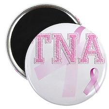 TNA initials, Pink Ribbon, Magnet