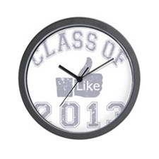 Class Of 2013 Thumbs Up Wall Clock