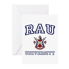 RAU University Greeting Cards (Pk of 10)