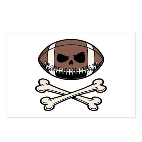 Football Pirate Postcards (Package of 8)