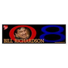 Bill Richardson '08 Signature Bumper Bumper Sticker