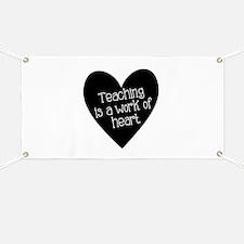 Teacher Heart Banner