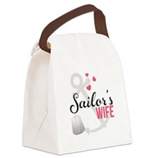 Sailors Wife Canvas Lunch Bag