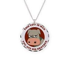 Angry Cow Necklace