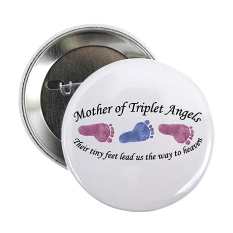 "Mother of Triplet Angels GBG 2.25"" Button (10 pack"
