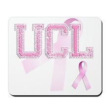 UCL initials, Pink Ribbon, Mousepad