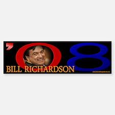 Bill Richardson Signature Bumper Bumper Bumper Sticker