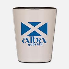 Long Live Alba! Shot Glass